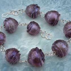 Patti Dougherty: Barrel Sponge Necklace