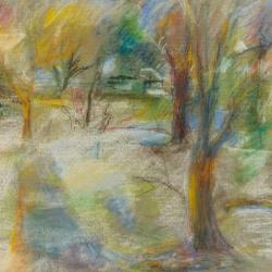 Paula Lachman: Swarthmore in the Snow