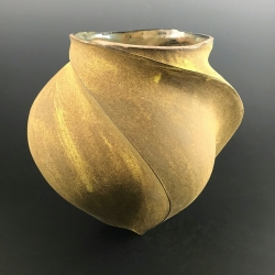 Peter Cunicelli: Yellow Low Vase