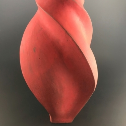 Peter Cunicelli: Off the Hip Red Vase