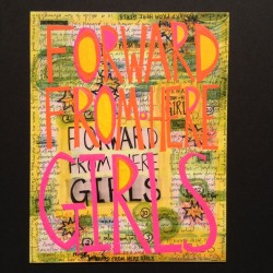 Constance Old: forward from here girls #1