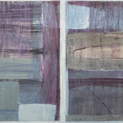 Rob Solomon: abstract diptych 1a5