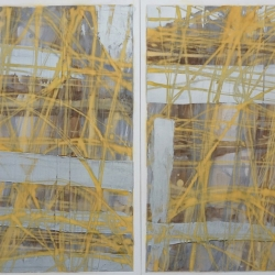 Rob Solomon: abstract diptych 1a12
