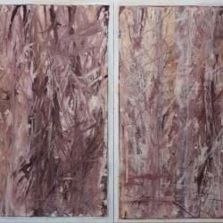 Rob Solomon: abstract diptych 1a3
