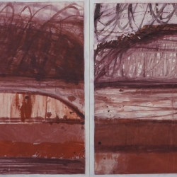 Rob Solomon: abstract diptych 1a7