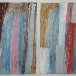 Rob Solomon: abstract diptych 1a9