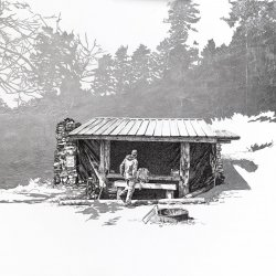 Sarah Kaizar: Tricorner Knob Shelter, North Carolina, (35.69375, -83.25653)