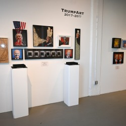 Satirical Candidacy Exhibition View