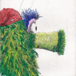 Scott Holford: Phanatic, handcolored