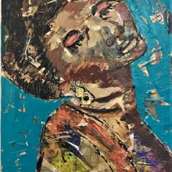 Barbara Shelly: Aretha (SOLD)