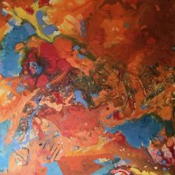 Susan Shipley: Arial of Fire Land
