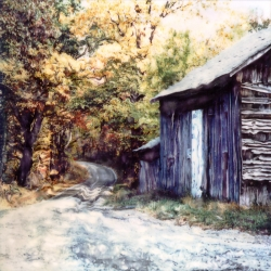 Mark Thellmann: October Barn