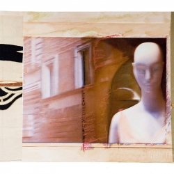 Trish Thompson: Face With Walls