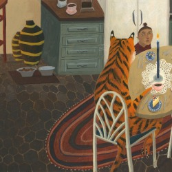 Tilda Rose: The Tiger Sat Down at The Table