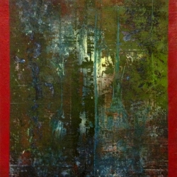 Mat Tomezsko: Green Abstract (There Is No)