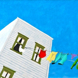 Window Clothesline