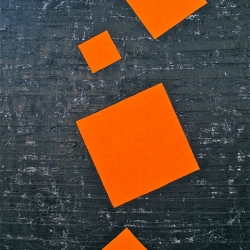 John Turner: Dancing Orange Squares