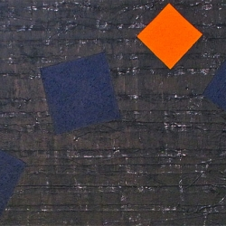 John Turner:Dancing Blue with Orange