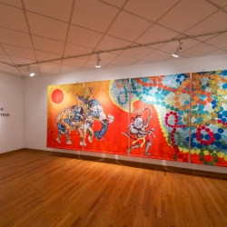 Heather Ujiie: Colossal Cosmos, installation view