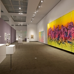 Heather Ujiie: Battle of the Sea Monsters, installation view