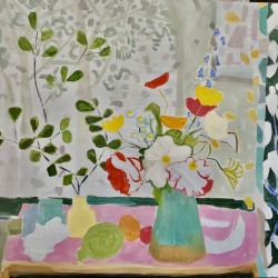 Valerie Coursen: FRUIT AND PATTERNS