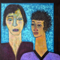 Susan Wallack: Two Women