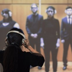 Yixuan Pan: How I Wonder What You Are--an anti-choir practice, installation view 2