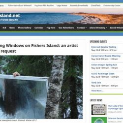Yixuan Pan: How to clean a Window on Fisher Island, screenshot from the local website