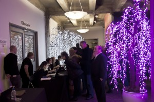 Hoffman Design Group donated LED trees to grace the entryway into last year's InLiquid Benefit.