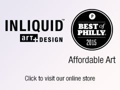 InLiquid Art + Design Wins the Best of Philly for Affordable Art