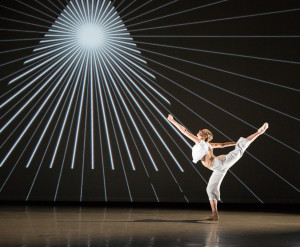 A Photo by Alexander Iziliaev, featuring Skyler Lubin; choreography by Matthew Neenan