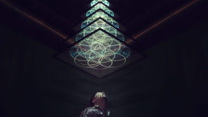 "Klip Collective: ""Chandelier."" Image courtesy Minima Gallery"
