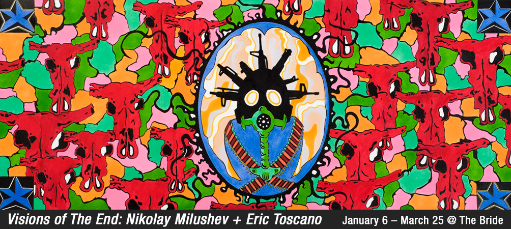 Visions of The End: Nikolay Milushev and Eric Toscano @ the painted bride