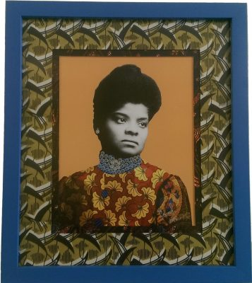 Ida B. Wells, Mixed Media, 18x20