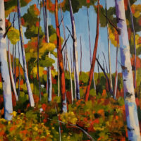 Jennifer Hallgren: Birch Garden