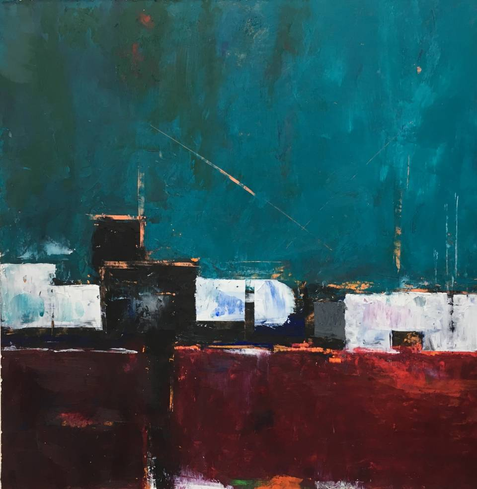 Nancy Neill is a contemporary abstract painter who was born in Akron, Ohio. She has traveled extensively in the US and internationally and currently lives in the Philadelphia area.  Her work attempts to capture the feeling of places in an abstract way.