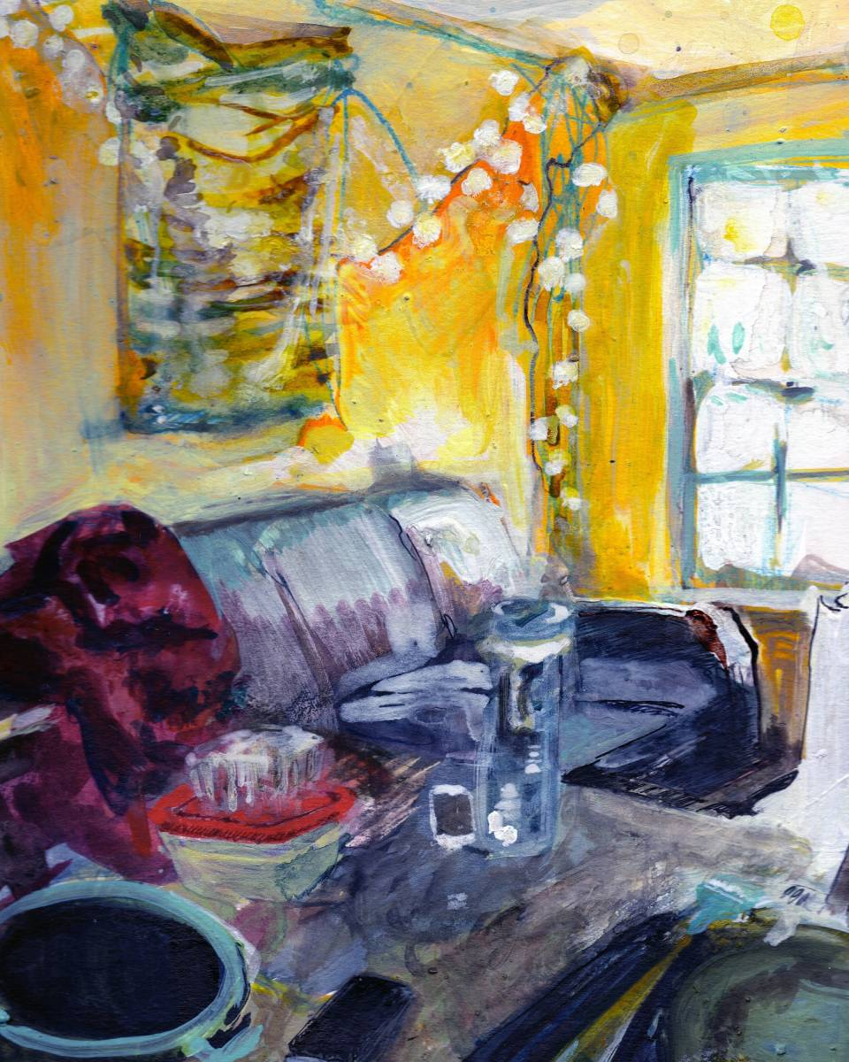 Paintings by Erika Stearly